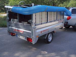 1. Lövsug K-vagn K-Speed 80